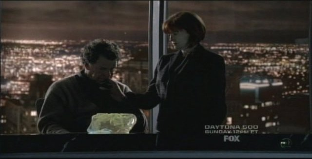 Fringe S3x14 6B Walter and Nina back ar Massive Dynamic