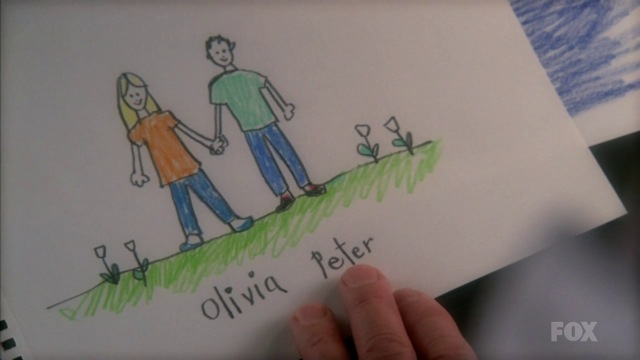 Fringe S3x15 - Young Olivia and Peter in White Tulips