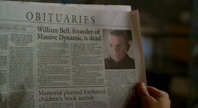 Fringe S3x16 - William Bell is dead or is he