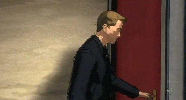 Fringe S3x19 - Carton Peters finds the red door