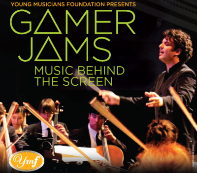 Gamer Jams 2013 banner poster event band leader - Click to order tickets for YMF's Gamer jams 2013!