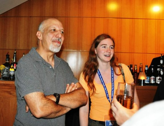 GateCon 2010 - Erick Avari and Fan