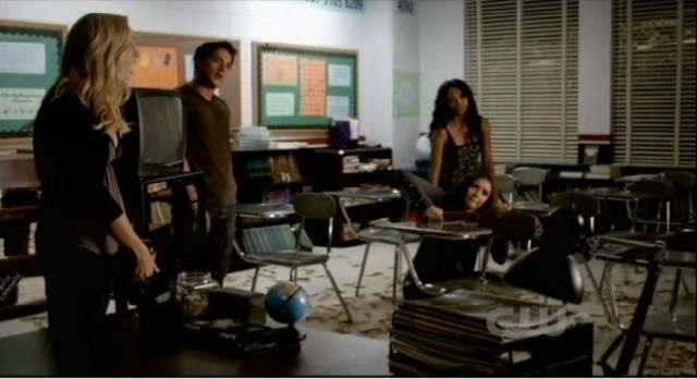 The Vampire Diaries 3x05 Group Shot Senior Prank