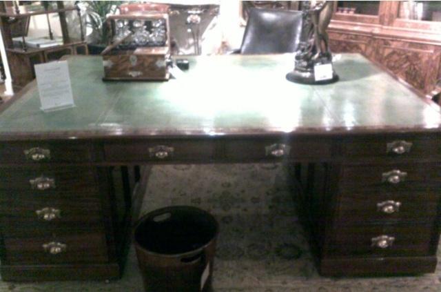 Harrods Helen Magnus Desk for 75,000 Pounds Sterling!