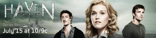 Click to learn more about Haven at Syfy!