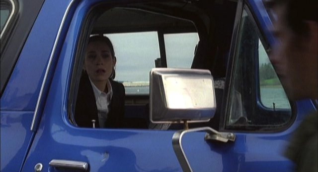 Haven S2x01 Alt Audrey is cuffed and placed in truck