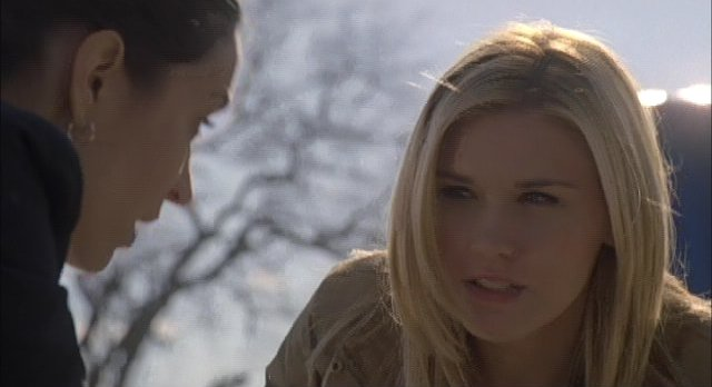 Haven S2x01 Both Audrey's begin to see eye to eye