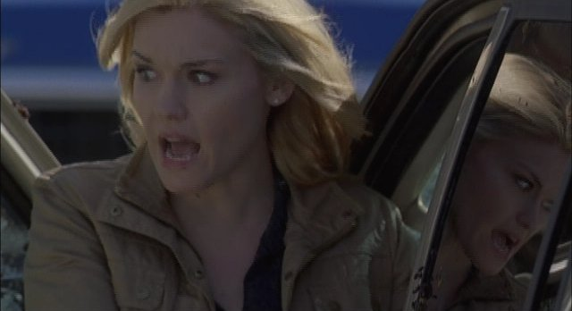 Haven S2x01 Our Audrey is terrified by the events