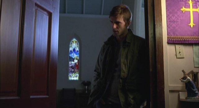 Haven S2x01 Wuornos questions Reverend Driscoll