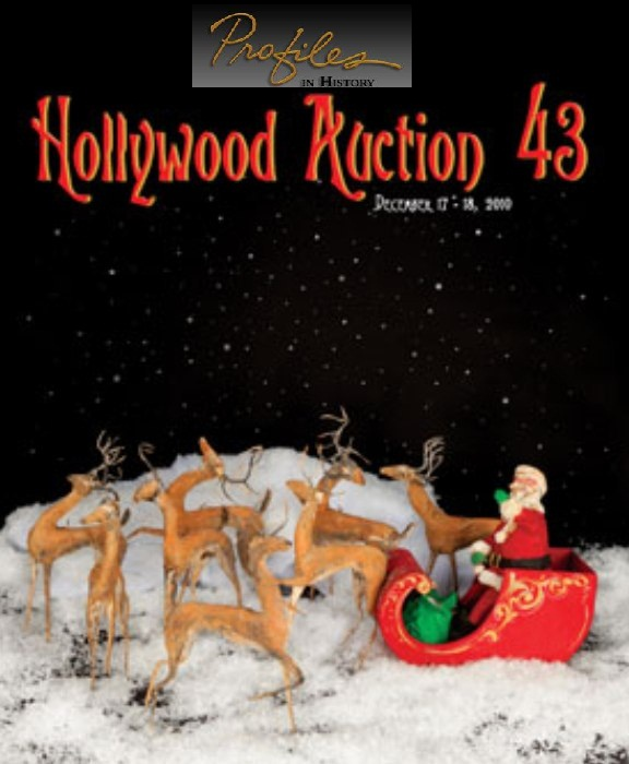 Learn more about Profile In History;s Hollywood Auction 43!