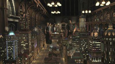 Sanctuary: E02 Firewall Holographic city ending