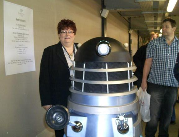 HonestHunny and Dalek