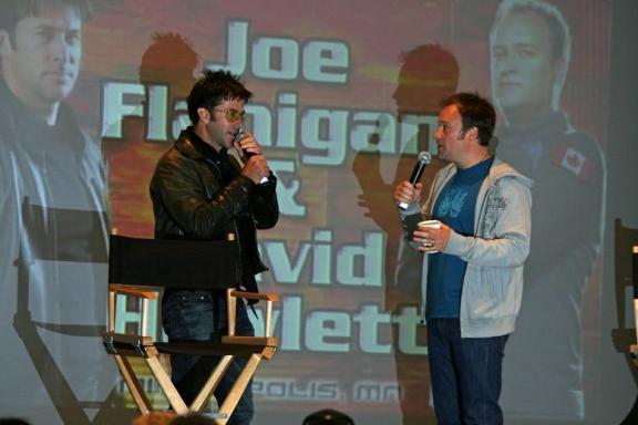 Joe Flanigan and David Hewlett reunite at MinCon!