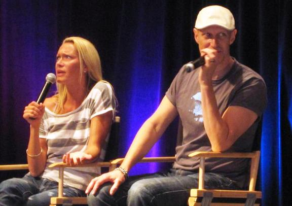 Chicon 2010 - Andee Frizzell and Chris Heyerdahl panel
