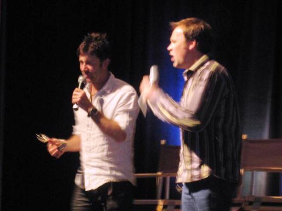 ChiCon 2010 - Joe Flanigan and David Hewlett