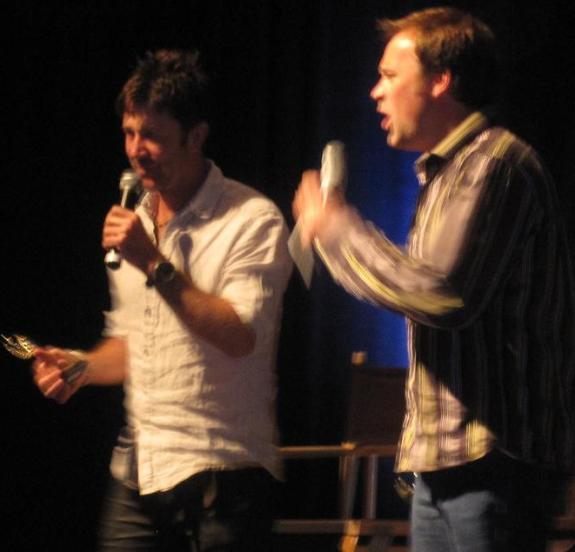 ChiCon 2010 Up close with Joe Flanigan & David Hewlett!