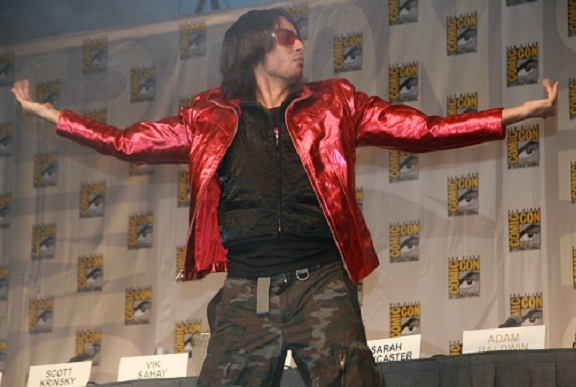 Comic-Con 2010 - Vic Sahay of Chuck