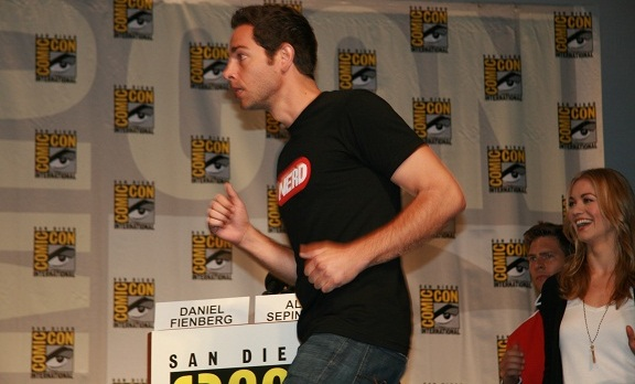 Comic-Con 2010 - Zachary, Joshua and Yvonne!
