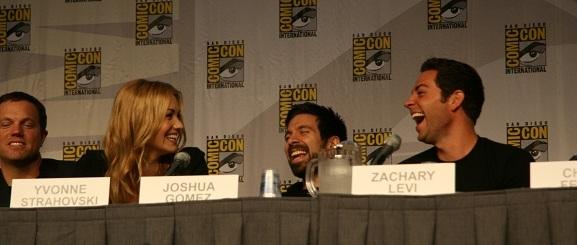 Comic-Con 2010 - Hilarious Chuck Panel
