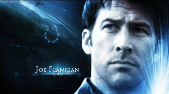 Joe Flanigan as John Sheppard!