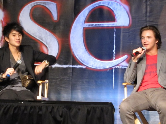 Justin Chon and Michael Welch Eclipse LA 2010!