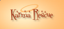Click to visit and DONATE to Karma Dog Rescue, Cliff's charity