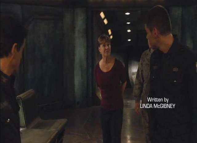 SGU S2x13 - Kathleen Quinlan as Senator Michaels