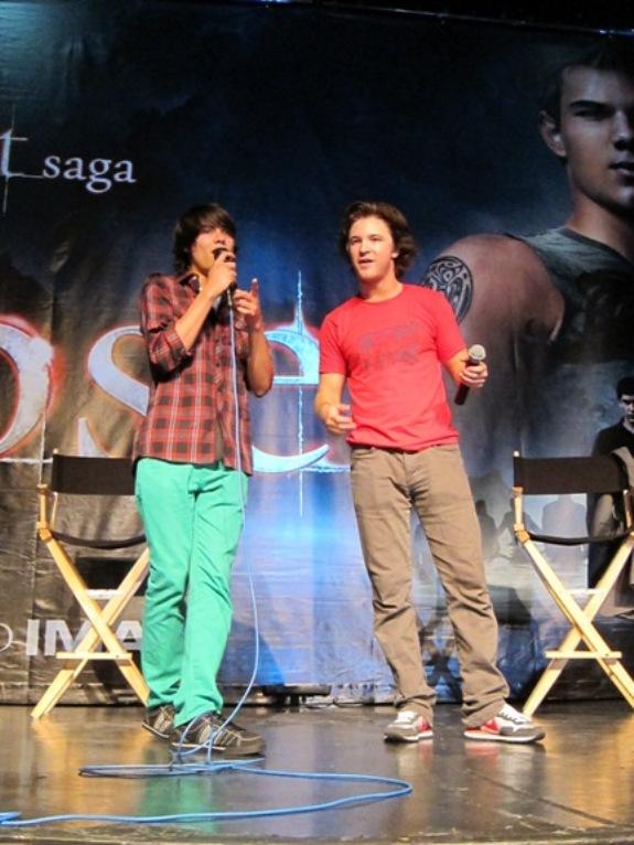 Kiowa Gordan and Michael Welch Eclipse LA 2010!