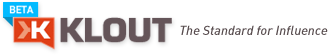 Click to visit and learn more about Klout!