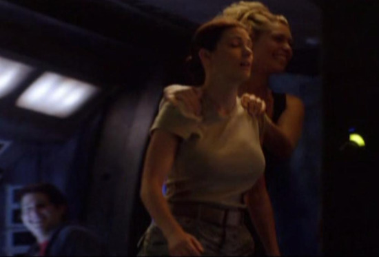 Stargate Universe S1x11 Space - Laughing