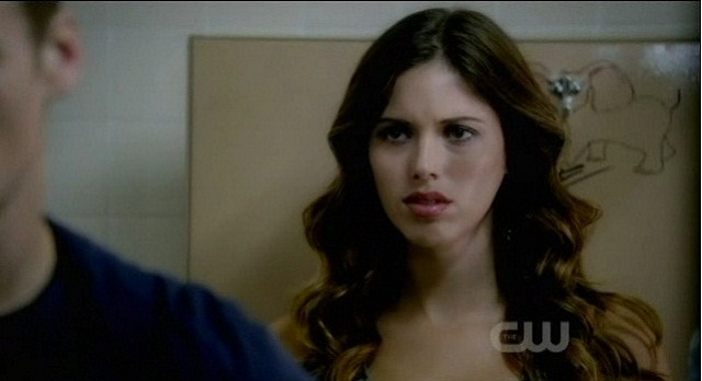 The Vampire Diaries 3x05 Ghost Vicki tries to talk to Matt