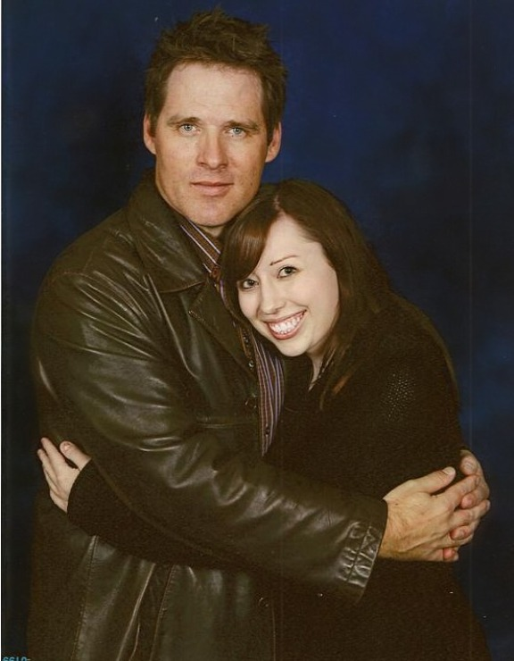 TriCon 2010 - Me and Ben Browder