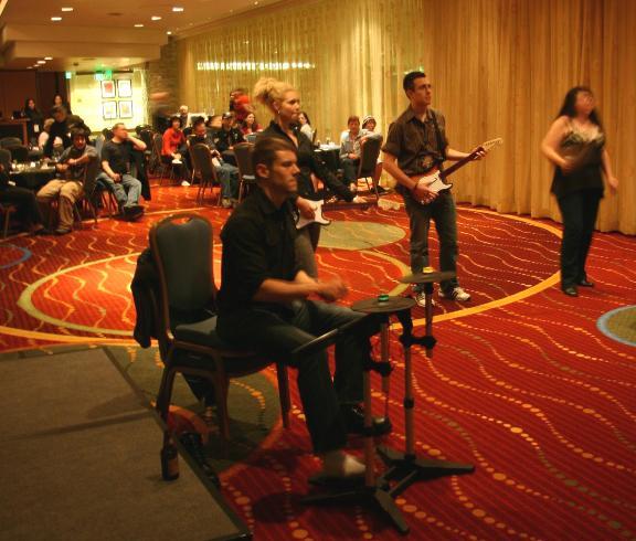 MinCon 2010 - Rockband Brian Alaina and Whovian!