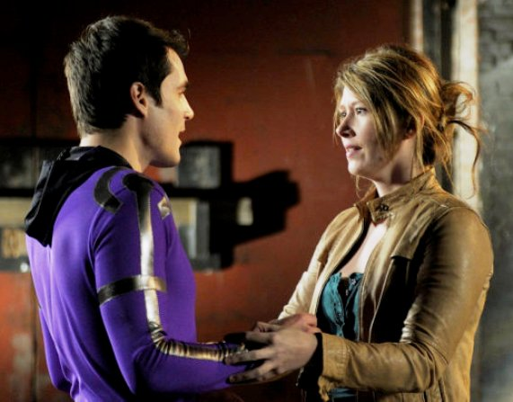 """Sean Maher and Jewel Staite from """"Mild Mannered""""!"""