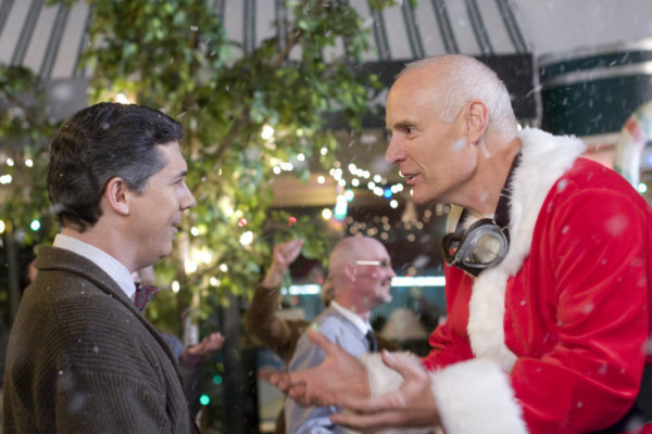 Eureka S4x10 - Matt Frewer as Taggert Santa
