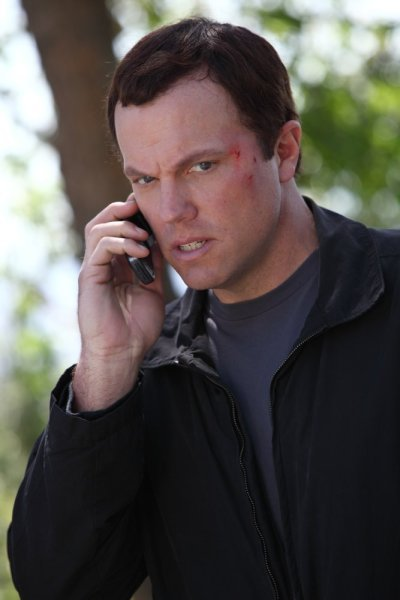 Adam Baldwin as Casey in Chuck!