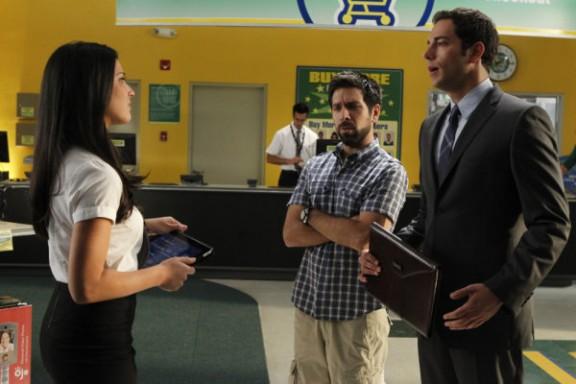 Chuck S4 - Olivia Munn, Joshua Gomez & Zachary Levi