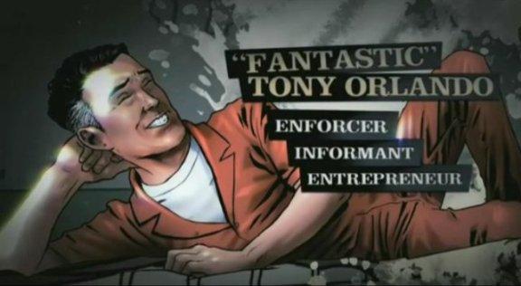 Character Tony Orlando from The Dream Detective!