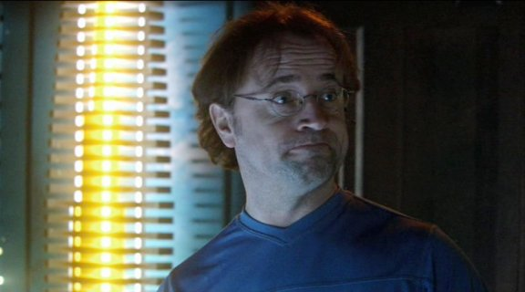David Nykl as Stargate Atlantis' Dr. Zelenka!