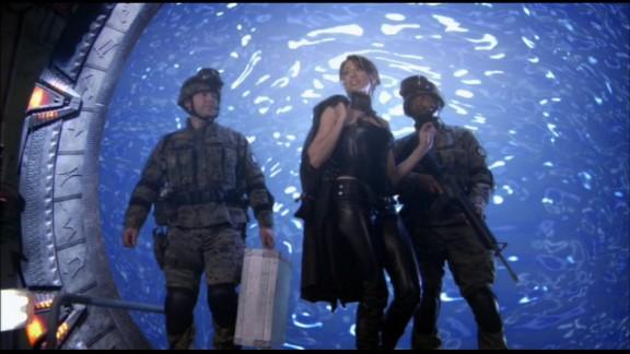 Vala Arrives at Stargate Command