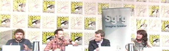 Comic-con 2010 - Sanctuary Panel