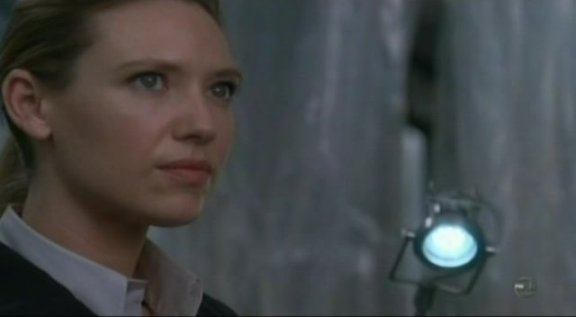 Fringe S3x09 Marionette - Livia in the lab without a revolver