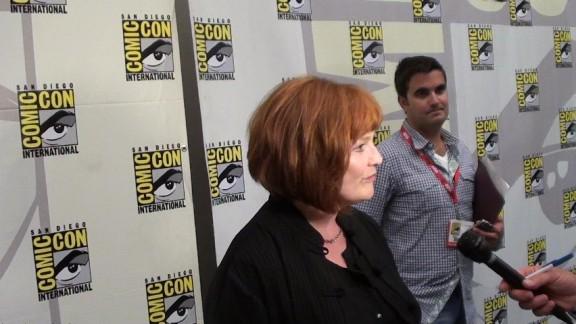 Comic-Con 2010 Blair Brown on Fringe Red Carpet