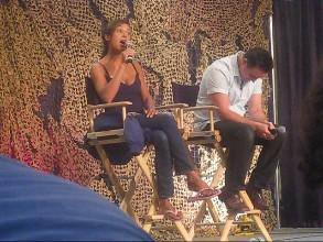 Paul listens as Rachel sings Baby Mine