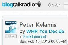 Click to join You Decide host Peter Kelamis February 19 2012 6 PM