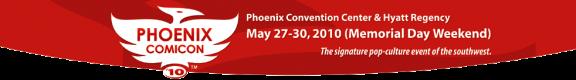 Click to visit Pheonix Comiccon Dot Com