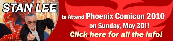 Click to view line up at Pheonix ComicCon!