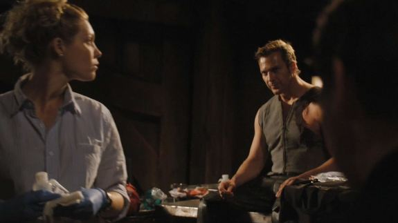 Mike Dopud as Varro. Click to visit SGU on Syfy