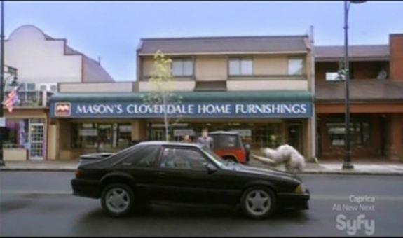 Cloverdale -- Brody's car