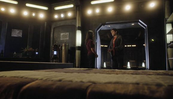 SGU Resurgence S2x10  Camile and Eli have a heart-to-heart